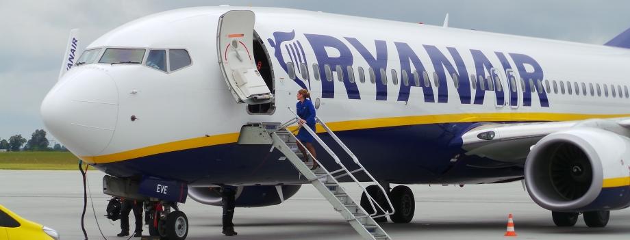 Ryanair przywraca Dublin