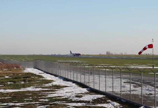 Lądowanie od strony Piask