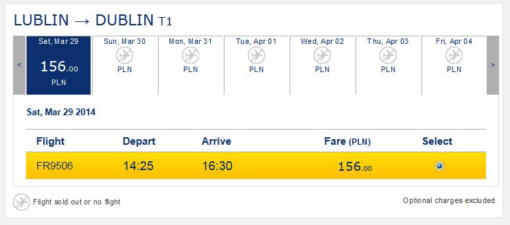 Select - Ryanair.com
