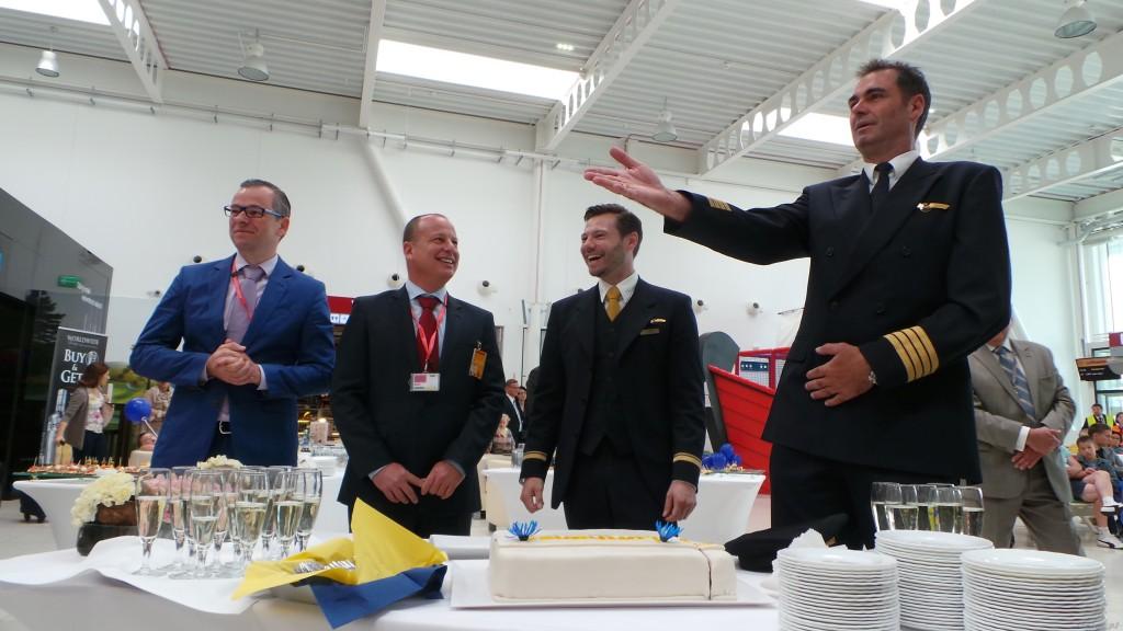 Tort serwowany był przez kapitanów Airbusa