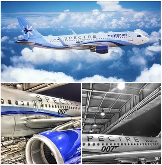 Meksykańskie linie Interjet przygotowały specjalne malowane dla 2 swoich Airbusów A320