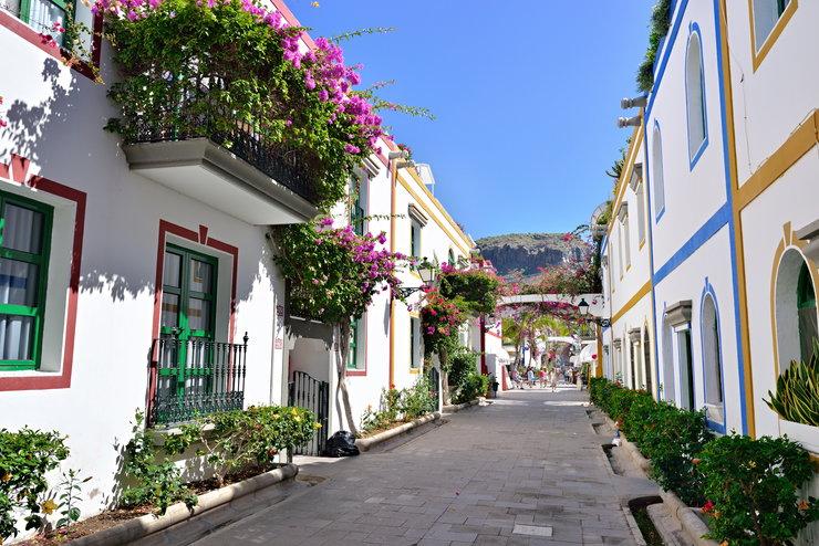 Białe Miasteczko - Puerto de Mogán, Gran Canaria